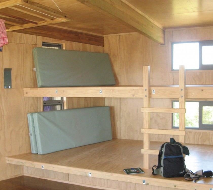 Crosbies Hut Bunks