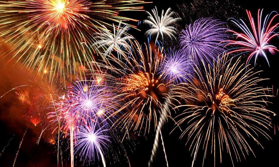 pauanui tairua new years eve fireworks display the coromandel
