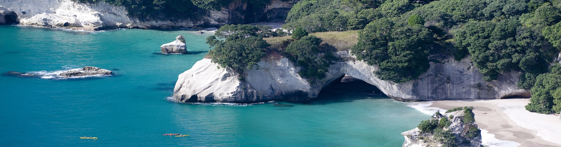 Cathedral Cove on Weather Crafts