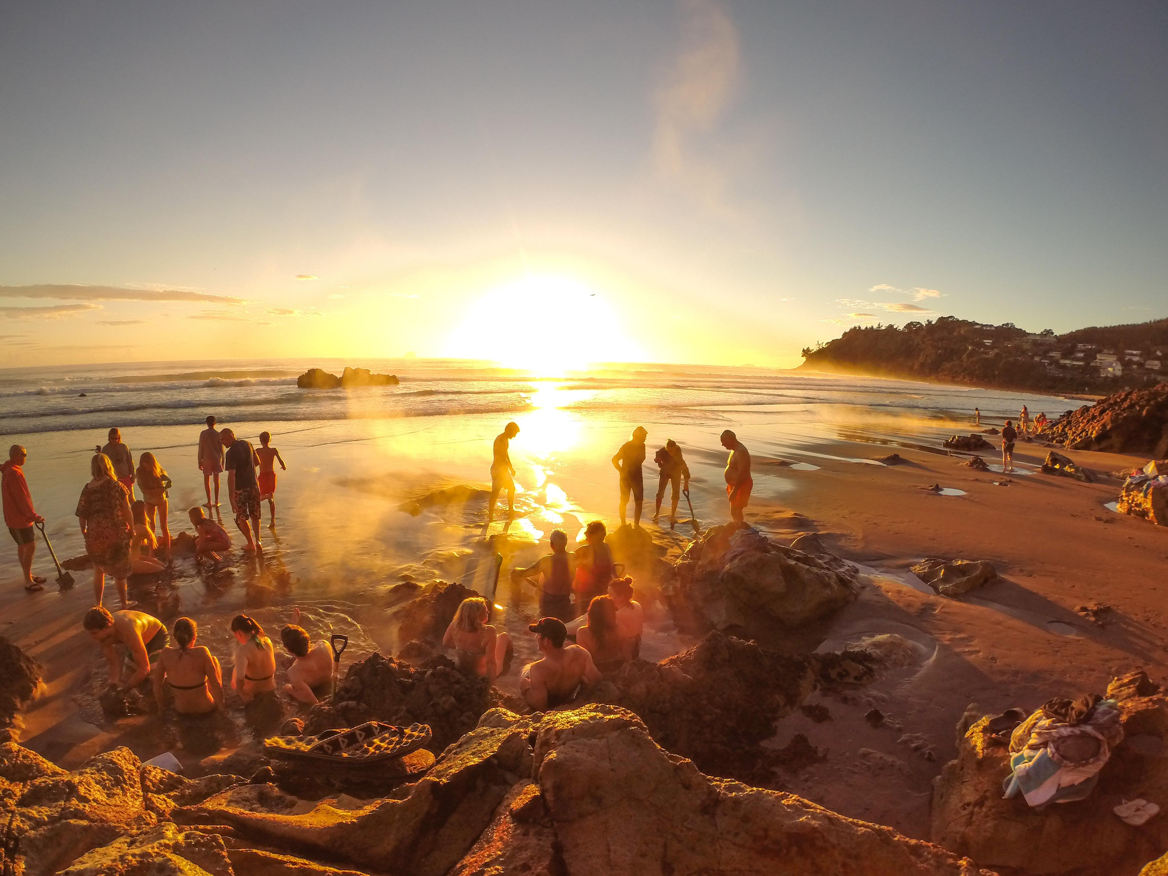 Hot water beach backpackers